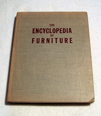 The Encyclopedia of Furniture by Joseph Aronson (1947 Hardcover)