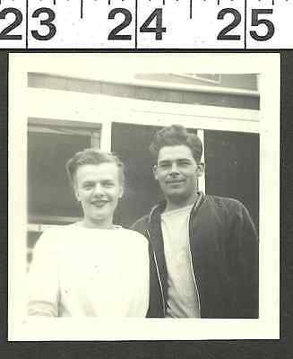 Vintage 1940's Photo Of Very Cute Couple #2032.5