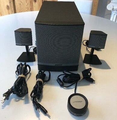Bose Companion 3 Series II 2.1 Desktop Speakers