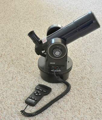 Meade ETX 60 f5.8 refractor with hand controller.