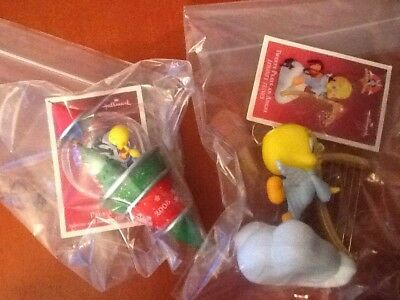 Hallmark Keepsake Tweety Plays An Angel Looney Tunes & Peek A Boo Tweety Lot