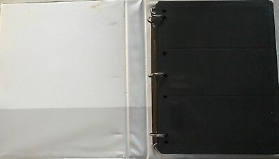 STAMP ALBUM / STOCKBOOK BLACK SHEETS INC HAGNERS VARIOUS STRIPS x 50