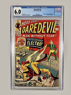 Daredevil #2 CGC 6.0 (06/64 Marvel) 2nd Electro Silver Age Key! Offers Welcomed!