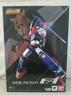NEW BANDAI Soul of Chogokin GX-79 VOLTES V FA FULL ACTION US SELLER