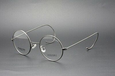 397fdf87fa Vintage Style Round Eyeglass Frames Cable Temples Size  44 46 mm COLOR GRAY