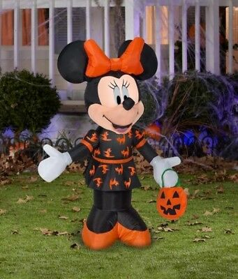 disney minnie mouse halloween inflatable indoor outdoor yard decoration 35 feet