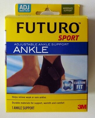 4fc48d6681 Futuro Sport Adjustable Ankle Support - Moderate Support Adjust To Fit