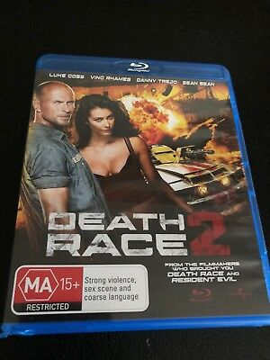 Death Race 2 - Unrated (Blu-ray, 2010)