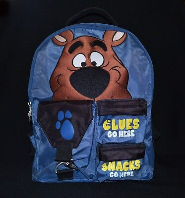 Warner Bros Scooby Doo Backpack Vintage 1999