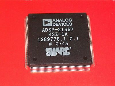 Analog Devices SHARC ADSP-21367 32-bit SIMD floating point DSP, 2Mb RAM, 400MHz