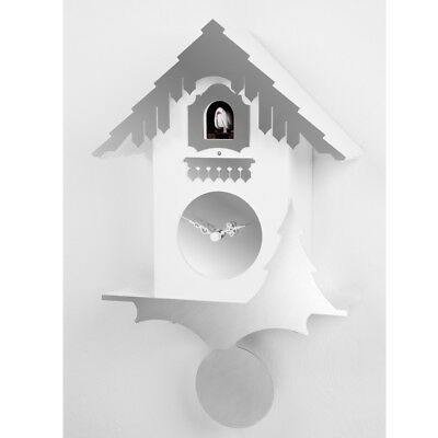 CHALET stainless steel Exclusive Wall Cuckoo Clock