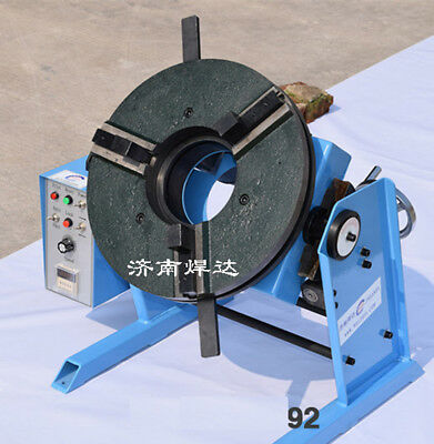 100KG Hollow 100MM Welding Positioner Turntable Timing Function With 300mm Chuck