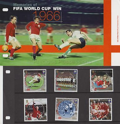 ISLE OF MAN Presentation Pack 2006 Fifa World Cup Win 1966  Set 10% off any 5+