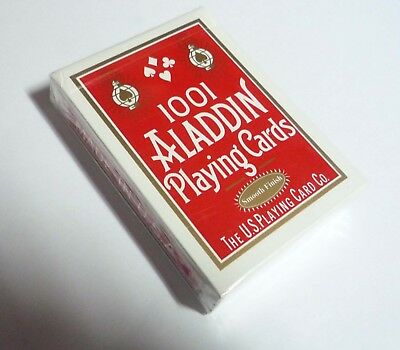 Playing Cards Promo 1001 ALADDIN  Pack Deck Red US 2011 Asia Collect Sealed
