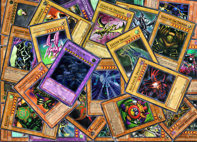 100 Card Lot Inc 10 Holos + Free Booster Pack Bundle Yugioh