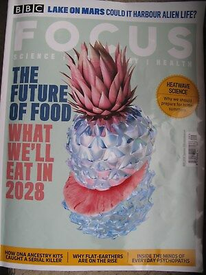 BBC Focus Magazine September 2018 The Future of Food Science Technology Health