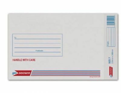 GoSecure Bubble Lined Envelope SIZE 1/5/7/9 WHITE / GOLD