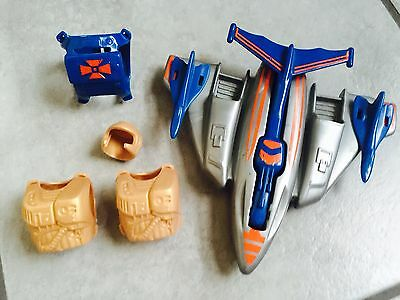 MOTU MASTERS of the Universe HE-MAN,Jet Sled  80/90 TOP  !!!