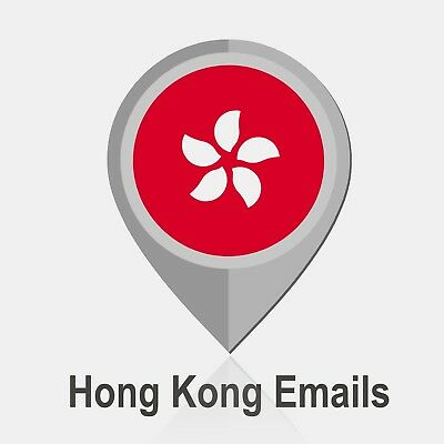 ✅ 7,9 Millions HONG KONG - Email List For Email Marketing
