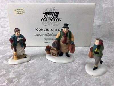 Dept 56 Dickens Village ~ Come Into The Inn ~ Mint In Box 55603