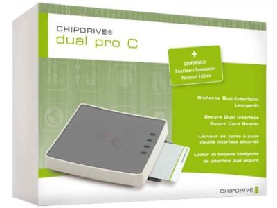 CHIPDRIVE DUAL PRO C RFID Chipkartenleser (CLOUD 4700F)