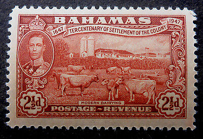 """Bahamas #136 Vf Mint Nh**(Modern Dairing) Engraved By """"canadian Banknote Co."""""""