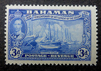 """Bahamas  #137 Vf Mint Nh**(Fishing Fleet) Engraved By  """"canadian Banknote Co."""""""