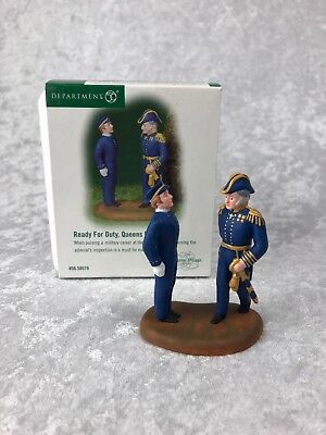 Dept 56  Dickens Village 'READY FOR DUTY, QUEENS PORT'  #56.58579