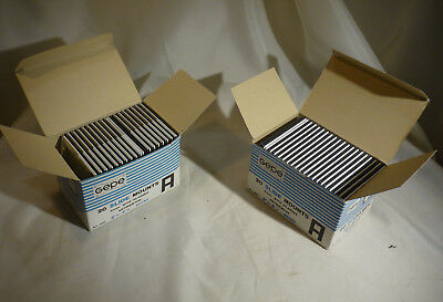 2 Boxes (38) Gepe 60x60 Medium Format 20 Slide Mount with Antinewton Glasses 3mm