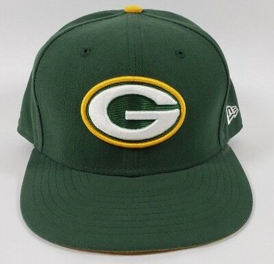 173461a46 GREEN BAY PACKERS New Era 59fifty NFL Aaron Rodgers Sz 7 -  24.99 ...