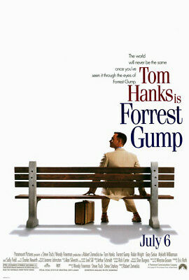 Forrest Gump (1994) original movie poster - double-sided - rolled