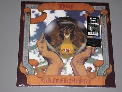 DIO  Sacred Heart LP (Clear Vinyl)  Rocktober Limited Edition New Sealed Vinyl