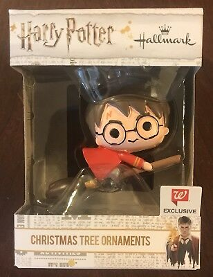 Hallmark Christmas Ornament HARRY POTTER - WALGREENS Quidditch Robe Broomstick
