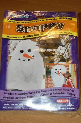Quest Winter Pals- Snowman Plant Frost Protection- Decorate Your Yard - Bnip!!