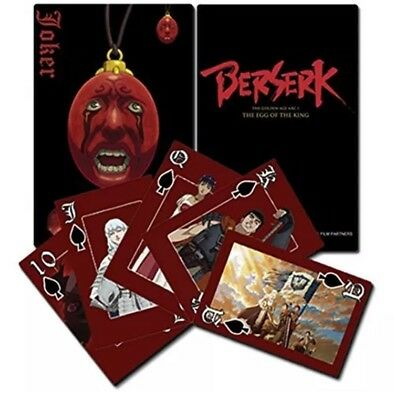 Berserk Playing Cards Anime Manga AUTHENTIC LICENSED GE Animation BRAND NEW PACK