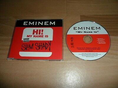 Eminem -  My Name Is (Rare 1999 Deleted 3 Track Cd Single)