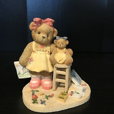 Cherished Teddies Bear Figurine Rosemary Colorful Days Spent With You Crayola