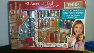 American Girl Ultimate Crafting Kit Super Set 1500 Pieces Crafts