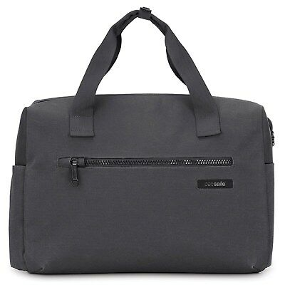 Pacsafe Intasafe Brief Anti-Theft Laptop Briefcase Bag, Charcoal