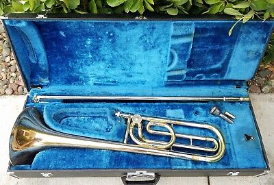 Vintage Yamaha Trombone Ysl 643 * Japan * Excellent Condition!