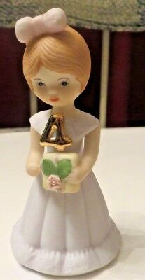 Enesco PORCELAIN GROWING UP BIRTHDAY GIRL FIGURINE #4