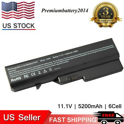 New Battery for Lenovo IdeaPad G460 G560 G570 V570 Z470 B570 L09S6Y02 6 Cell