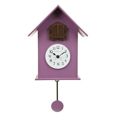216 purple Wall Cuckoo Clock Decor