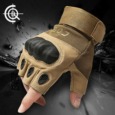 Tactical Military Gloves Men Spring Hard Knuckle Amy Half Finger Outdoor Cycling