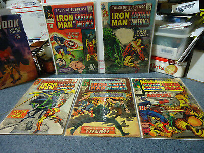 Tales Of Suspense # 68,71,73,78,94 (Marvel, 1965) 1st Modok Silver Age See Pics