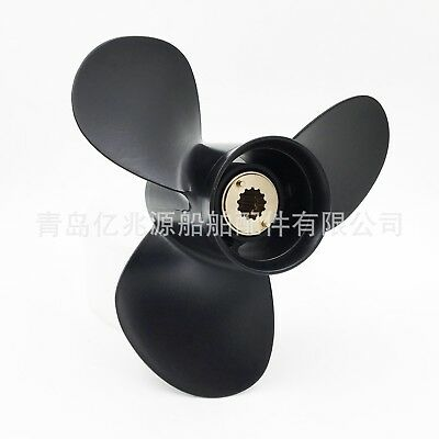 Marine Boat Yacht Aluminum Outboard Prop Propeller for Mercury 25-70HP Engine