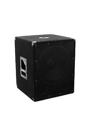 Omnitronic BX-1550 Subwoofer 800W Bass Lautsprecher Speaker Box