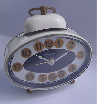 Vintage - Mechanical - Unique - Blessing - Single Bell - Alarm Clock - 50/60's