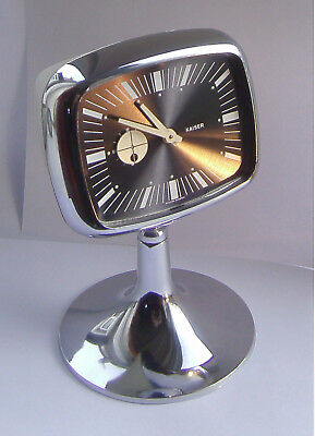 Vintage - Retro - Kaiser / Blessing - Mechanical - Space Age - Alarm Clock