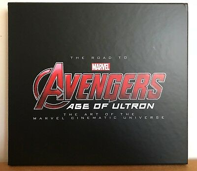 ❅❅ Uk - Marvel The Art Of The Road To Avengers Age Of Ultron ❅❅